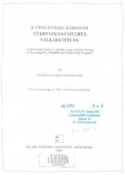 Kretzenbacher