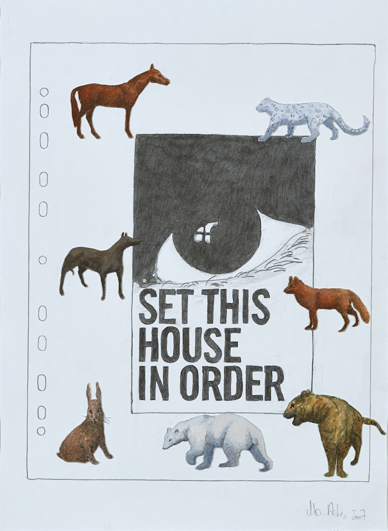 MariaPeters_SetThisHouseInOrder_Collage_50x40_2007